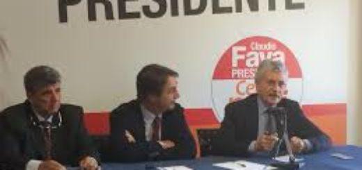 Claudio Fava e Massimo D'Alema