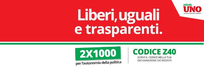 liberi, uguali e trasparenti